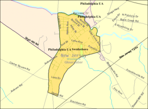 Census Bureau map of Swedesboro, New Jersey.png