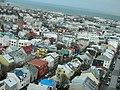 Central Reykjavik from Hallgrimskirkja. - panoramio.jpg