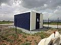 Centrale photovoltaïque de la Colle des Mées-Transformateur.JPG