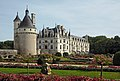 Château de Chenonceau. View from the garden of Catherine de' Medici.jpg