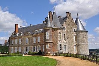Montmirail, Sarthe - The château of Montmirail