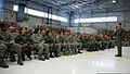 Chairman of the Joint Chiefs of Staff Navy Adm. Mike Mullen addresses Airmen and civilians stationed at McChord Air Force Base in Tacoma, Wash., June 18, 2008 080619-N-TT977-026.jpg