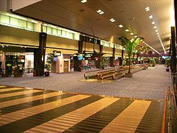 Singapore Changi Airport Terminal 1 interior