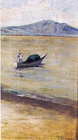 Chapala, Jalisco - Chapala by Brazilian Mexican painter Felix Bernardelli, 1899