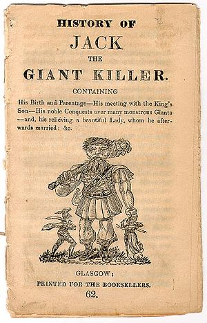 Jack the Giant Killer - Chapbook title page