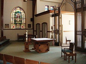 St. Anne Catholic Community (Barrington, Illinois) - Image: Chapel Interior 2