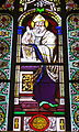 Chapel of the Immaculate Conception (University of Dayton) - stained glass, Saint Ambrose.JPG