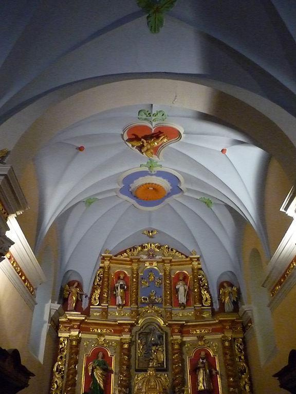 File chapelle sainte anne col des aravis plafond jpg - Plafond de la chapelle sixtine description ...