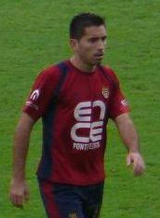Charles (footballer, born 1984) - Charles playing for Pontevedra in 2007