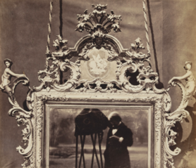 Venetian Mirror, c. 1700, from the Collection of John Webb