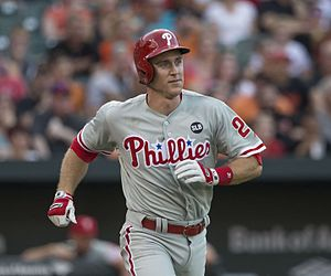 Chase Utley - Utley with the Phillies in 2015