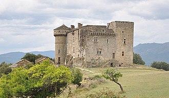 Aujac, Gard - The Chateau du Cheylard in Aujac
