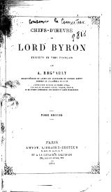 Chefs-d'œuvre de Lord Byron, trad. A. Regnault, tome II, 1874.djvu