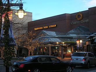 Cherry Creek Shopping Center - Cherry Creek Shopping Center during the holiday season