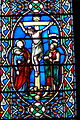 Chester Cathedral - Erasmuskapelle 1 Fenster Kreuzigung.jpg