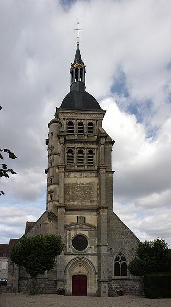 Eglise Saint-martin, Chézy-sur-Marne, Aisne, France.