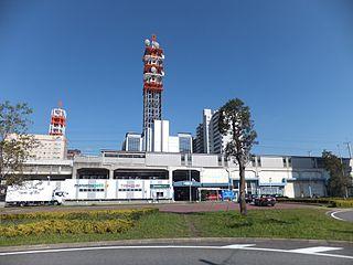 Chibaminato Station Railway and monorail station in Chiba, Japan