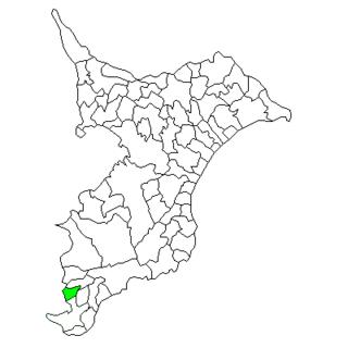 Tomiura, Chiba Former municipality in Kantō, Japan