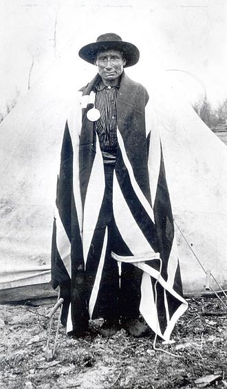Sandy Lake First Nation - Robert Fiddler, Sucker clan leader and chief of Deer and Sandy Lake Bands at time of treaties.
