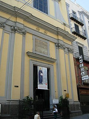 Santa Brigida, Naples