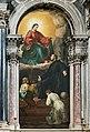 Chiesa di Santa Maria della Visitazione (degli Artigianelli) Girolamo Emiliani (o Miani) che affida alla Beata Vergine i suoi orfanelli di Alessandro Revera.jpg