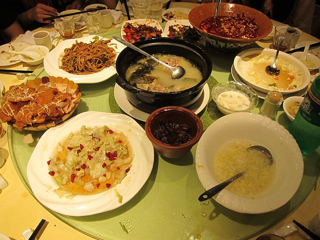 File china table wikimedia commons for 8 types of chinese cuisine