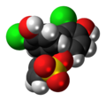 Chlorophenol red cyclic 3D spacefill.png