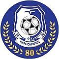 Chornomorets odesa 80 years logo.jpg