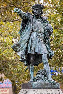 <i>Columbus</i> (Bartholdi) United States historic place