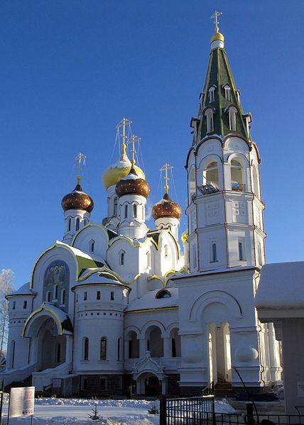 Храм Александра Невского в Княжьем Озере