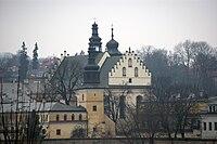 Church of StAugustine and St. John the Baptist (Norbertines), 88 Kosciuszki street, Salwator,Krakow.jpg
