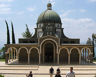 Beatitudes - Church of the Beatitudes, the traditional location for the Sermon on the Mount