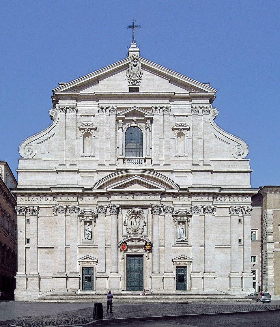 Church of the Gesù, Rome crop