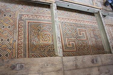 Church of the Nativity mosaic floor 2010 2.jpg