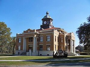 Old Citrus County Courthouse - Image: Citrus Cty Crths Inverness 01