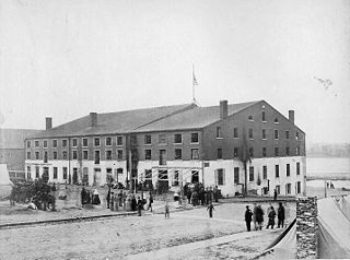Libby Prison Confederate prison at Richmond, Virginia during the American Civil War