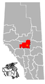 Clamar, Alberta Location.png