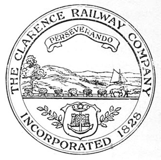 Clarence Railway - The seal of the Clarence Railway