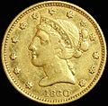 Clark & Co. territorial gold half eagle obverse.jpg