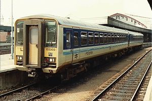 Sprinter (train) - Image: Class 155 303