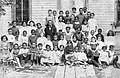 Class of 1909-1910 - in front of the only school in Canada built by fugitive slaves.jpg