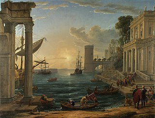 painting by Claude Lorrain