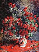 Claude Monet - Chrysanthèmes rouges.jpg