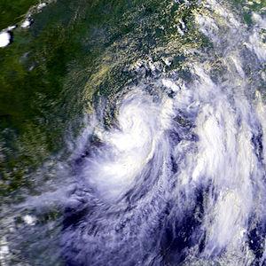 1979 Atlantic hurricane season - Image: Claudette 24 jul 1979 2040Z TN