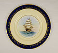 Clipper Ship Plate, Young America (22673953364).jpg