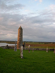 Clonmacnoise Round Tower
