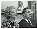 Close up of Carl Albert and Anna Marie Renegar, the head of the German Bundestag. April 8, 1974.jpg