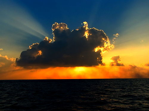 A cloud illuminated by sunlight Cloud in the sunlight.jpg