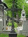 Cmentarz prawosławny na Woli krzyż żeliwny.JPG