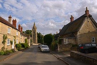 Empingham - Image: Cmglee Empingham Church Street